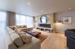 Living room تنفيذ David Hales Interior Design