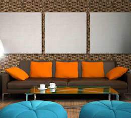 PANESPOL WOOD: Paredes de estilo  por PANESPOL, Surface Lovers