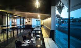 Restaurantes de estilo  por Ortho Estudio