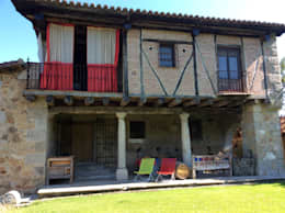 Casas de estilo ecléctico por Anticuable.com