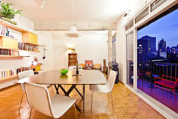 eclectic Dining room by Zoom Urbanismo Arquitetura e Design