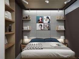 Habitaciones de estilo minimalista por PlatFORM