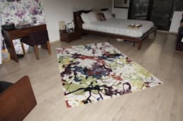 HMW 1008 TC - Hand Tufted Rug: modern Bedroom by Indus Shanti Carpets India Pvt Ltd