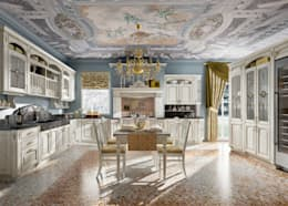 colonial Kitchen by home cucine