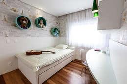 Tikkanen arquitetura: modern tarz Yatak Odası