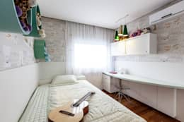 غرفة نوم تنفيذ Tikkanen arquitetura