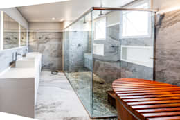 Tikkanen arquiteturaが手掛けた浴室