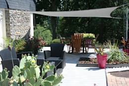 Jardins modernos por EURL OLIVIER DUBOIS