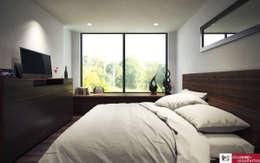 mediterranean Bedroom by disain arquitectos