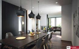 mediterranean Dining room by disain arquitectos