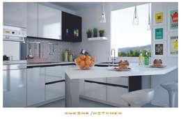 مطبخ تنفيذ ZENZEROdesign