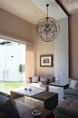Salas de entretenimiento de estilo moderno por Erika Winters® Design