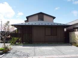 外観1:       古津真一 翔設計工房一級建築士事務所が手掛けた家です。