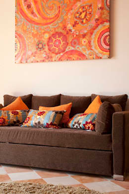 eclectic Bedroom تنفيذ Erika Winters® Design