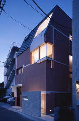 บ้านและที่อยู่อาศัย by 北川裕記建築設計