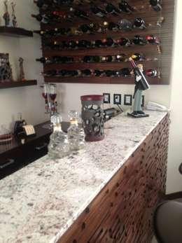 modern Wine cellar by Arki3d
