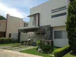 Valle Real: Casas de estilo moderno por Arki3d