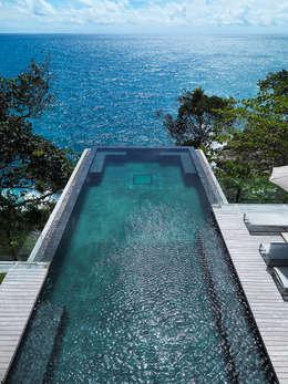 modern Pool by Original Vision