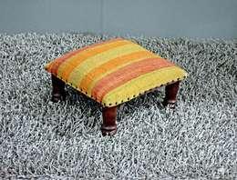 Stools: classic Living room by Natural Fibres Export
