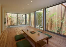 modern Living room by arbol