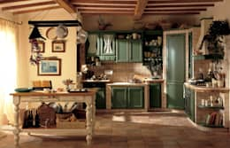 rustic Kitchen by Perimetro Cucine