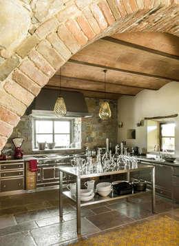 mediterranean Kitchen by dmesure