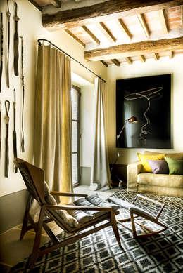 Projekty,  Salon zaprojektowane przez dmesure