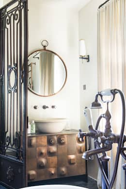 dmesure: akdeniz tarzı tarz Banyo