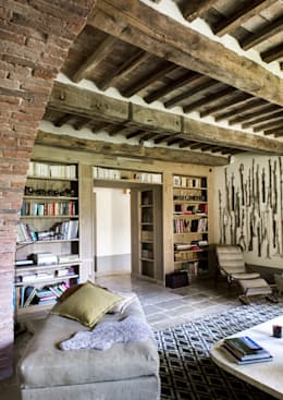 Toscane: Salon de style de style Méditerranéen par dmesure