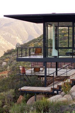 Hotel Encuentro Guadalupe: Hoteles de estilo  por Gracia Studio
