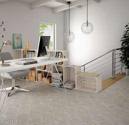 Equipe Ceramicas: iskandinav tarz tarz Çalışma Odası