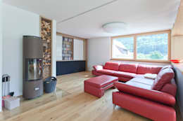 Projekty,  Salon zaprojektowane przez Catharina Fineder Architektur