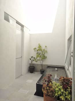 Jardines de estilo moderno por Abraham Cota Paredes Arquitecto
