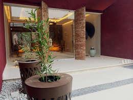 Jardines de estilo moderno por arqflores / architect