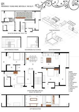 Details: minimalistic Houses by Studio An-V-Thot Architects Pvt. Ltd.