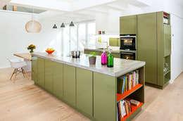 popstahl Küchen: modern tarz Mutfak