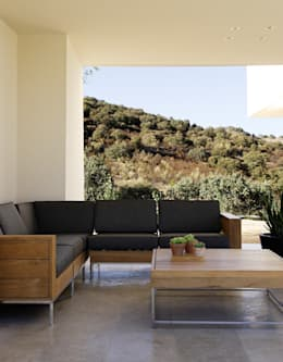 Terrazas de estilo  por Otto Medem Arquitectura S.L