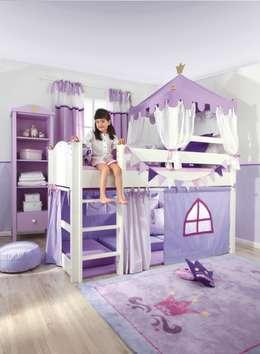Farbe, Kinderzimmer Und Lila Prinzessinnen