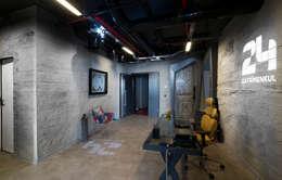 Projekty,  Ściany i podłogi zaprojektowane przez Europanel