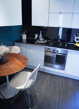 Appartement Batignolles: Cuisine de style de style Moderne par Priscilla Martin