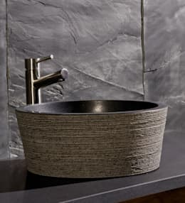 rustieke & brocante Badkamer door Stonearth Interiors Ltd