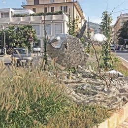 per la città e per tutti: Giardino in stile in stile Mediterraneo di Studio S.O.A.P.