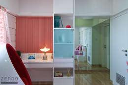 Daughters Bedroom: modern Bedroom by ZERO9