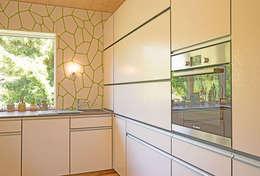 modern Kitchen by MAX-Haus GmbH
