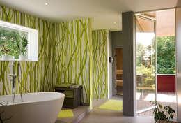 modern Bathroom by MAX-Haus GmbH
