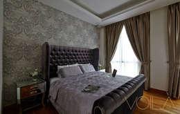 Chancery Lane: modern Bedroom by VOILÀ Pte Ltd