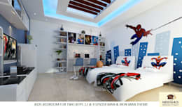 Nursery/kid's room by Neeras Design Studio