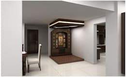 7 Beautiful Pooja Room Designs on small bedroom ceiling design
