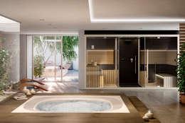 Ванная комната в . Автор – jacuzzi