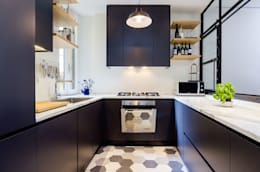 industrial Kitchen by NOMADE ARCHITETTURA E INTERIOR DESIGN
